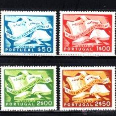 Sellos: PORTUGAL 807/10** - AÑO 1954 - CAMPAÑA DE EDUCACION POPULAR. Lote 53075522