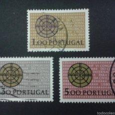 Sellos: SELLOS DE PORTUGAL. YVERT 981/3. SERIE COMPLETA USADA.. Lote 53170171