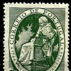 Sellos: PORTUGAL 1944- YV 0652 AFI 0641 (FELIX AVELAR BROTERO). Lote 53429256