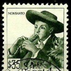 Sellos: PORTUGAL 1947- YV 0690 AFI 0679 (TRAJES REGIONALES-II). Lote 103330970