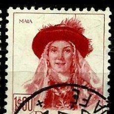 Sellos: PORTUGAL 1947- YV 0692 AFI 0681 (TRAJES REGIONALES-II). Lote 53439447