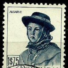 Sellos: PORTUGAL 1947- YV 0693 AFI 0682 (TRAJES REGIONALES-II). Lote 53439469
