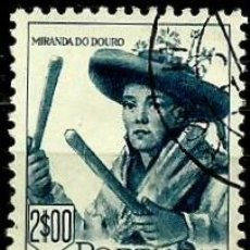 Sellos: PORTUGAL 1947- YV 0694 AFI 0683 (TRAJES REGIONALES-II). Lote 53439492