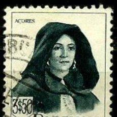 Sellos: PORTUGAL 1947- YV 0695 AFI 0684 (TRAJES REGIONALES-II). Lote 53439506