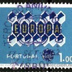 Sellos: PORTUGAL 1962- YV 0908 AFI 0898 (EUROPA CEPT). Lote 82195126