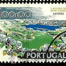 Sellos: PORTUGAL 1972- YV 1143 AFI 1145 (PAISAJES Y MONUMENTOS)[DORSO-1972]. Lote 218025012