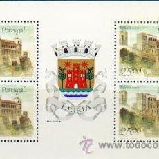 Sellos: PORTUGAL ** & CASTILLOS Y ESCUDOS DE PORTUGAL, LEIRIA 1987 (1799). Lote 53608683