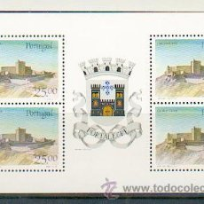 Sellos: PORTUGAL ** & CASTILLOS Y ESCUDOS DE PORTUGAL, PORTALEGRE 1987 (1817). Lote 53608755