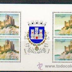 Sellos: PORTUGAL ** & CASTILLOS Y ESCUDOS DE PORTUGAL, SANTARÉM 1987 (1828). Lote 53608811