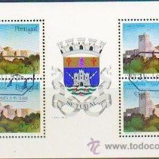 Sellos: PORTUGAL & CASTILLOS Y ESCUDOS DE PORTUGAL, PORTO 1987 (1827). Lote 53608846