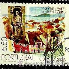 Sellos: PORTUGAL 1980- YV 1476 AFI 1474 (CONFERENCIA MUNDIAL DE TURISMO). Lote 53662599