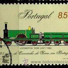 Sellos: PORTUGAL 1981- YV 1518 AFI 1541 (125 AÑOS DEL FERROCARRIL PORTUGUÉS). Lote 53669075