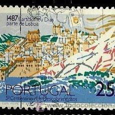 Sellos: PORTUGAL 1987- YV 1705 AFI 1811 (VIAJE DE BARTOLOME DIAS). Lote 53778883