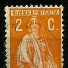 Sellos: PORTUGAL 1917/24- YV 0230(B) AFI 0223 (CERES)(2 C). Lote 53983466