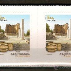 Sellos: PORTUGAL ** & ARQUEOLOGIA EM PORTUGAL 2015 (4). Lote 53994896
