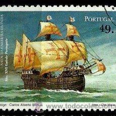 Sellos: PORTUGAL 1997- YV 2146 AFI 2390 (BARCOS DE LA CARRERA DE INDIAS). Lote 210612042