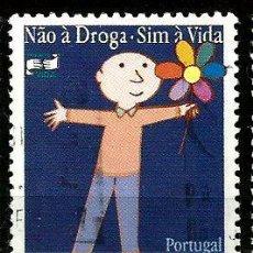 Sellos: PORTUGAL 1997- YV 2150 AFI 2398 (NO A LAS DROGAS; SÍ A LA VIDA). Lote 210611215