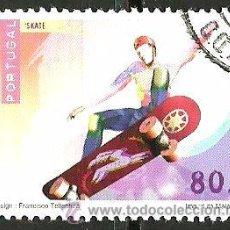 Sellos: PORTUGAL 1997- YV 2163 AFI 2417 (DEPORTES DE RIESGO). Lote 210611482