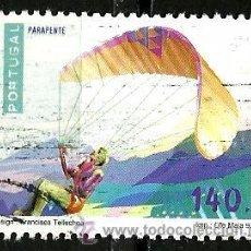 Sellos: PORTUGAL 1997- YV 2165 AFI 2419 (DEPORTES DE RIESGO). Lote 210611510
