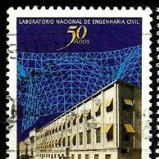 Sellos: PORTUGAL 1997- YV 2183 AFI 2437 (LABORATORIO DE INGENIERIA CIVIL)). Lote 210611673