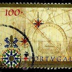 Sellos: PORTUGAL 1997- YV 2194 AFI 2448 (CARTOGRAFIA PORTUGUESA). Lote 210611795