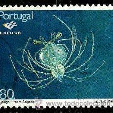 Sellos: PORTUGAL 1997- YV 2197 AFI 2451 (EXPO'98-PLACTON OCEÁNICO). Lote 210611948