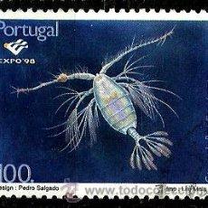 Sellos: PORTUGAL 1997- YV 2198 AFI 2452 (EXPO'98-PLACTON OCEÁNICO). Lote 210611980