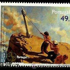 Sellos: PORTUGAL 1997- YV 2202 AFI 2456 (DESCUBRIMIENTO DE LA RUTA A LAS INDIAS). Lote 54648679