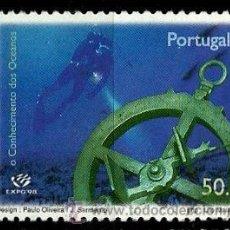 Sellos: PORTUGAL 1998- YV 2233 AFI 2490 (EXPO'98 - OCEANOGRAFIA). Lote 210612351