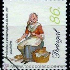Sellos: PORTUGAL 1999- YV 2301 AFI 2562 (PROFESIONES Y PERSONAJES DEL SIGLO XIX). Lote 210612418