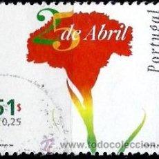 Sellos: PORTUGAL 1999- YV 2314 AFI 2577 (REVOLUCION 25 DE ABRIL, ANIVERSARIO). Lote 210612478