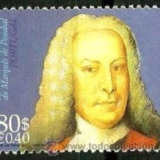 Sellos: PORTUGAL 1999- YV 2318 AFI 2583 (MARQUES DE POMBAL). Lote 210612572