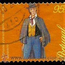 Sellos: PORTUGAL 1999- YV 2322 AFI 2567 (PROFESIONES Y PERSONAJES DEL SIGLO XIX). Lote 103221234