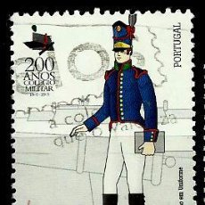 Sellos: PORTUGAL 2003- MI 2635 AFI 2927 (ACADEMIA MILITAR PORTUGUESA). Lote 210612840
