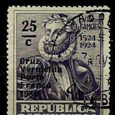 Sellos: PORTUGAL 1935- YV FR085 AFI CR59 (CRUZ ROJA PORTUGUESA) (SELLO-FRANQUICIA). Lote 54789720