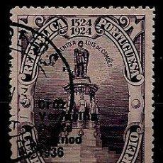 Sellos: PORTUGAL 1935- YV FR090 AFI CR64 (CRUZ ROJA PORTUGUESA) (SELLO-FRANQUICIA). Lote 54789900