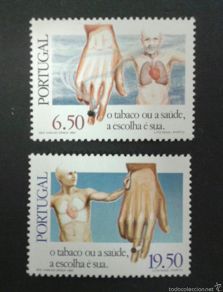 SELLOS DE PORTUGAL. MANOS. YVERT 1690/1. SERIE COMPLETA NUEVA SIN CHARNELA. (Sellos - Extranjero - Europa - Portugal)
