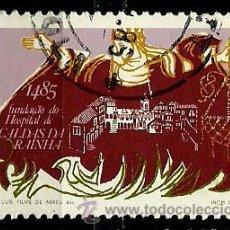 Sellos: PORTUGAL 1985- YV 1637 AFI 1705 (REINA Dª LEONOR). Lote 55015416