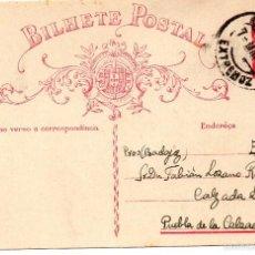 Sellos: BILHETE POSTAL - CIRCULADO EXTREMOZ 7 MAI 1935. Lote 55383379