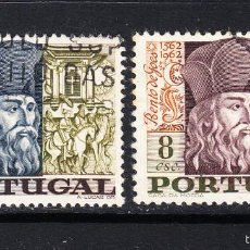 Sellos: PORTUGAL 1030/31 - AÑO 1968 - HOMENAJE A BETO DE GOES SOLDADO Y MISIONERO. Lote 55698677