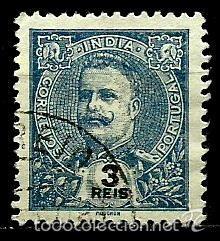 INDIA [COLONIA PORTUGUESA] 1903- YV 181 AFI 189 (Sellos - Extranjero - Europa - Portugal)