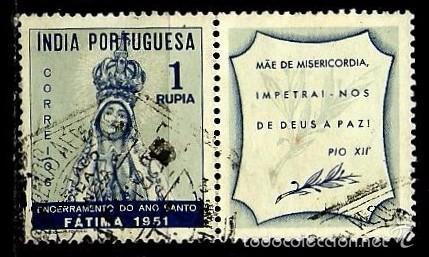 INDIA [COLONIA PORTUGUESA] 1951- YV 412 AFI 415 (Sellos - Extranjero - Europa - Portugal)