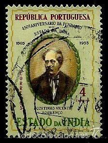 INDIA [COLONIA PORTUGUESA] 1956- YV 472 AFI 449 (Sellos - Extranjero - Europa - Portugal)
