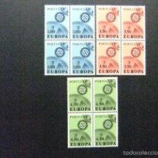 Sellos: PORTUGAL 1967 EUROPA CEPT YVERT 1007 / 09 ** MNH. Lote 57242905