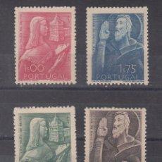 Sellos: PORTUGAL 702/5 CON CHARNELA, RELIGION, 3º CENTENARIO DEL NACIMIENTO DE SAN JUAN DE BRITO. Lote 57308656
