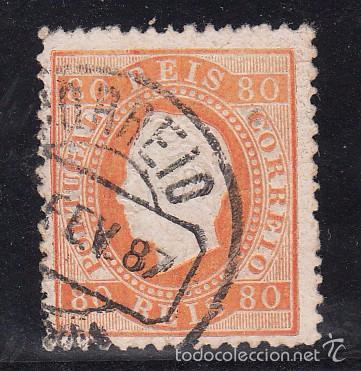 PORTUGAL 43 USADA, (Sellos - Extranjero - Europa - Portugal)