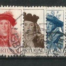 Sellos: PORTUGAL 1947 TOCADOS REGIONALES SERIE COMPLETA. Lote 57989969