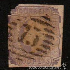 Sellos: PORTUGAL - CLÁSICO. YVERT Nº 17 USADO Y MUY DEFECTUOSO. Lote 58018943