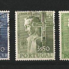 Sellos: PORTUGAL 4º CENTENARIO DE LA FUNDACION DE SAO PAULO. Lote 58299137