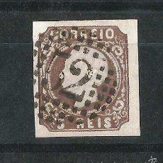 Sellos: PORTUGAL 1862-64 LUIS I USADO SIN DENTAR. Lote 58299219